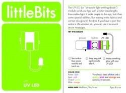 LittleBits UV LED - Thumbnail