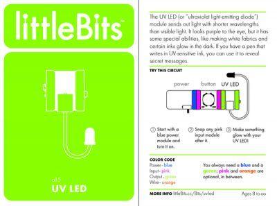 LittleBits UV LED