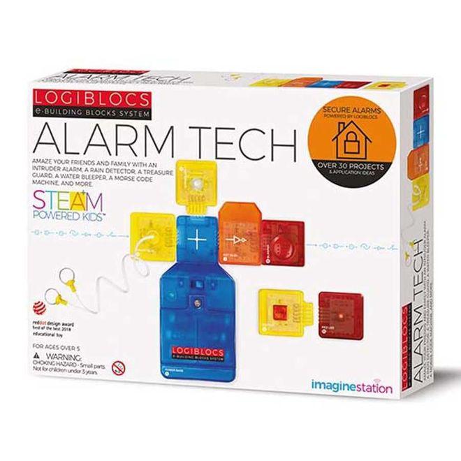 Logiblocs Alarm Tech Smart Electronics Game Circuit