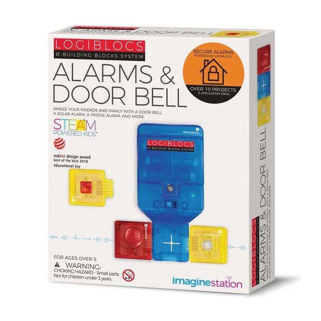Logiblocs Alarm ve Kapı Zili Akıllı Elektronik Oyun Devresi