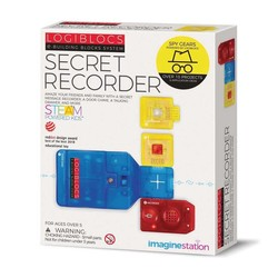 Imagine Station - Logiblocs Secret Recorder Smart Electronics Game Circuit