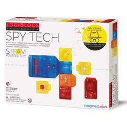 Imagine Station - Logiblocs Spy Tech Smart Electronics Game Circuit