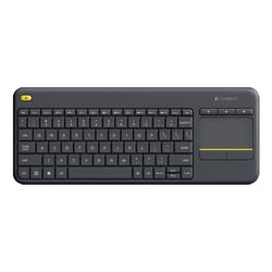 Logitech - Logitech K400 Plus Kablosuz Klavye Mouse