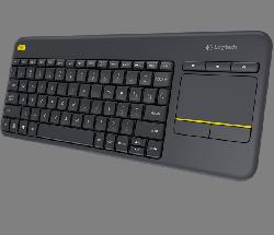 Logitech K400 Plus Wireless Keyboard Mouse - Thumbnail