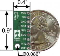 LPS331AP Pressure/Altitude Sensor - Thumbnail