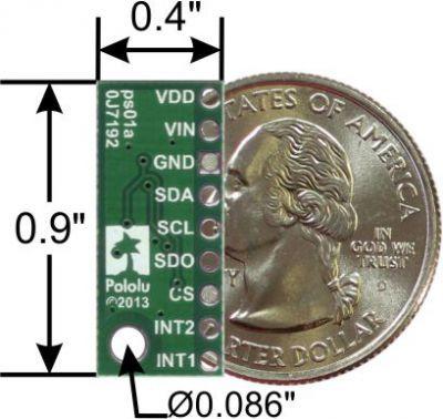 LPS331AP Pressure/Altitude Sensor