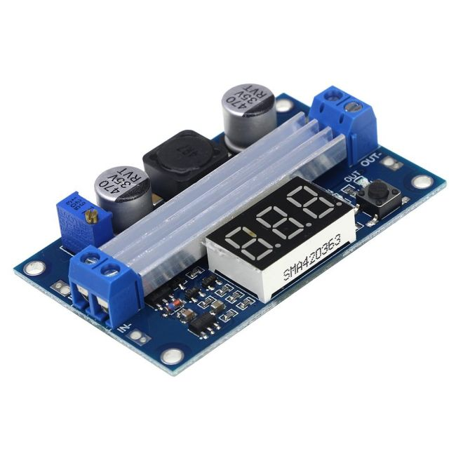 LTC1871 Step Up Ayarlanabilir Voltaj Regulator Kartı - 3,5-30 V 10 A