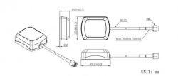LTE-A-002 - Aktif Harici GPS Anten - Thumbnail