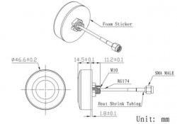 LTE-A-003 - Aktif Harici GPS Anten - Thumbnail