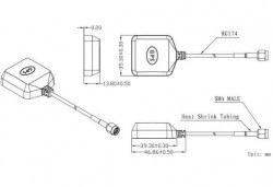 LTE-A-004 - Aktif Harici GPS Anten - Thumbnail