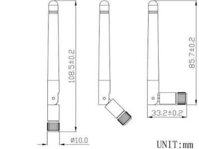 LTE-D-402 433MHz - RF Antenna