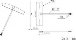 LTE-G-059 - Dahili GSM Anten - Thumbnail