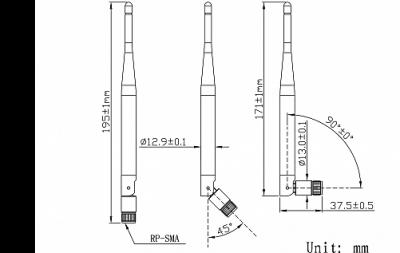 LTE-G-410 868 MHz - RF Antenna
