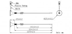 LTE-G-821 - Harici GSM Anten - Thumbnail