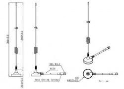 LTE-G-024 4G - Harici GSM Anten - Thumbnail