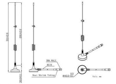 LTE-G-024 4G - Harici GSM Anten