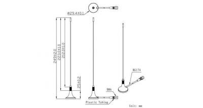 LTE-G-823 - Harici GSM Anten