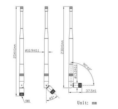 LTE-V-720 169MHz - RF Antenna