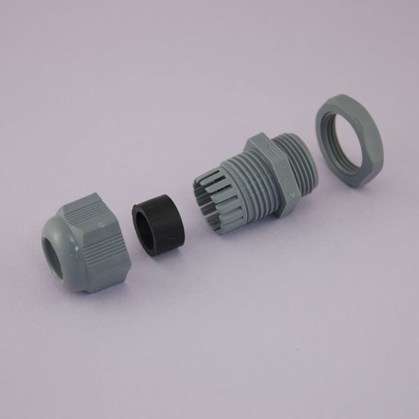 M25x1,5 Çok Delikli Kablo Rakoru - Açık Gri