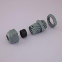 Altınkaya - M25x1,5 Çok Delikli Kablo Rakoru - Açık Gri - OMR 06B8