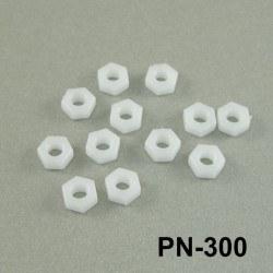 M3 Plastik Somun - PN-300 - Thumbnail
