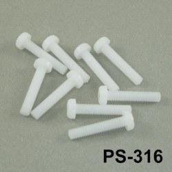 M3x16mm Plastic Screw - Thumbnail