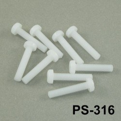 M3x16mm Plastic Screw - PS-316 - Thumbnail