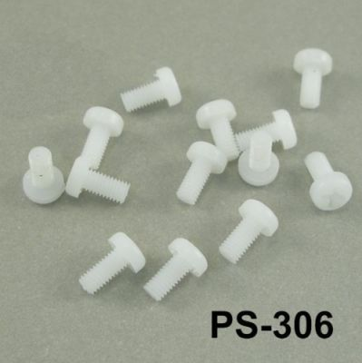 M3x6 mm Plastik Vida - PS-306