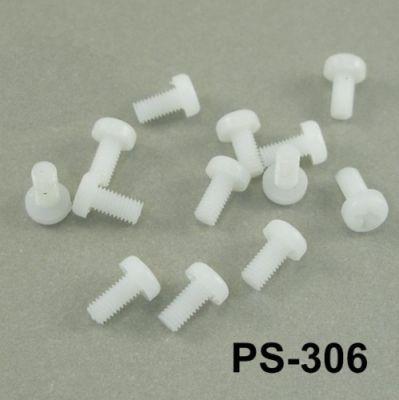 M3x6mm Plastic Screw - PS-306