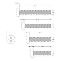 M4 Screw Set - Thumbnail