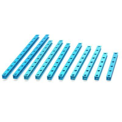 Makeblock 0808 Seri Kiriş Paketi - Beam0808 Robot Pack- Blue - 95004