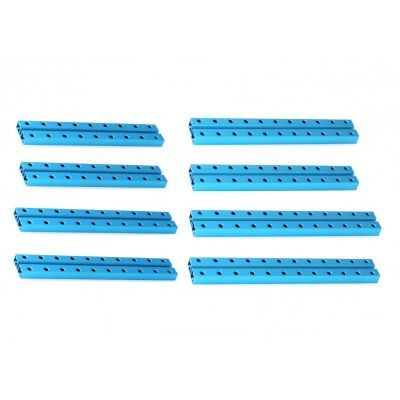 Makeblock 0824 Orta Boy Kiriş Paketi - Medium Beam 0824 Robot Pack - Blue - 95002
