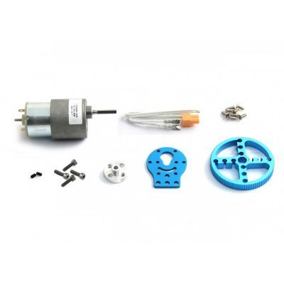 Makeblock 37 mm DC Motor Paketi - 37 mm DC Motor Pack-Blue - 95012