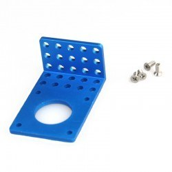 Makeblock - Makeblock 42BYG Stepper Motor Bracket B - Blue