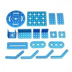 Makeblock - Makeblock Bağlantı Parçaları Paketi - Bracket Robot Pack - Blue - 95045