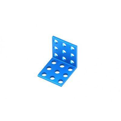 Makeblock Bracket 3x3 - Blue (4 Pack)