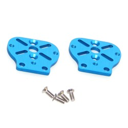 Makeblock - Makeblock DC Motor-25 Bracket B-Blue (Pair)
