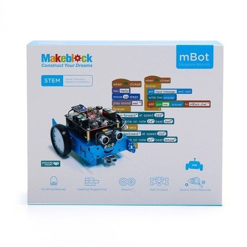 MakeBlock mBot 2.4G Kit v1.1 - Blue