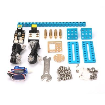 Makeblock mBot için Servo + Bağlantı Parçaları Paketi - Yeni Versiyon - 98052