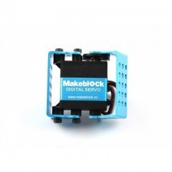 Makeblock MEDS15 Servo Motor Bracket - Blue (Pair) - Thumbnail