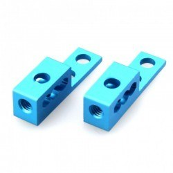 Makeblock - Makeblock P1 Tutacak Mavi (2 Adet)- Bracket P1 - Blue (Pair) - 62400