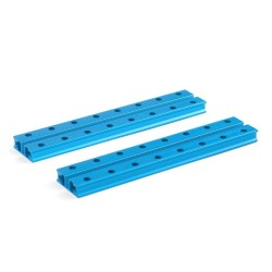Makeblock - Makeblock Slide Beam0824-128-Blue (Pair)