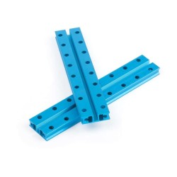 Makeblock Slide Beam0824-128-Blue (Pair) - Thumbnail