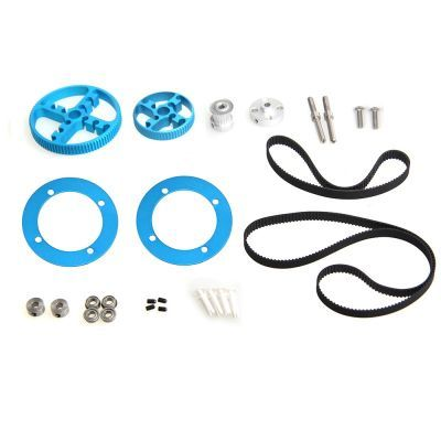 Makeblock Triger Kayışı ve Kasnak Seti - Timing Belt Motion Pack - Blue - 95040
