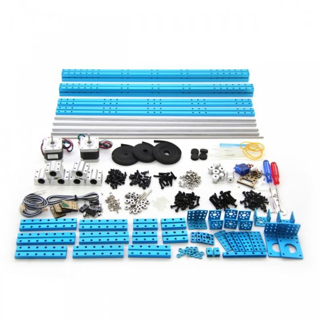 Makeblock XY-Plotter Robot Kit v2.0 - İki Eksenli Çizim Kiti (Elektroniksiz)