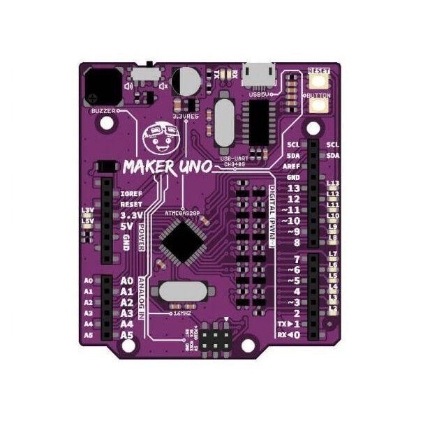 Maker UNO - Arduino UNO Uyumlu