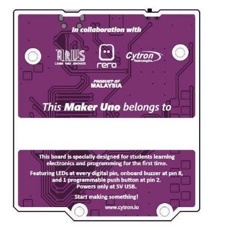 Maker UNO Development Board - Arduino Compatible