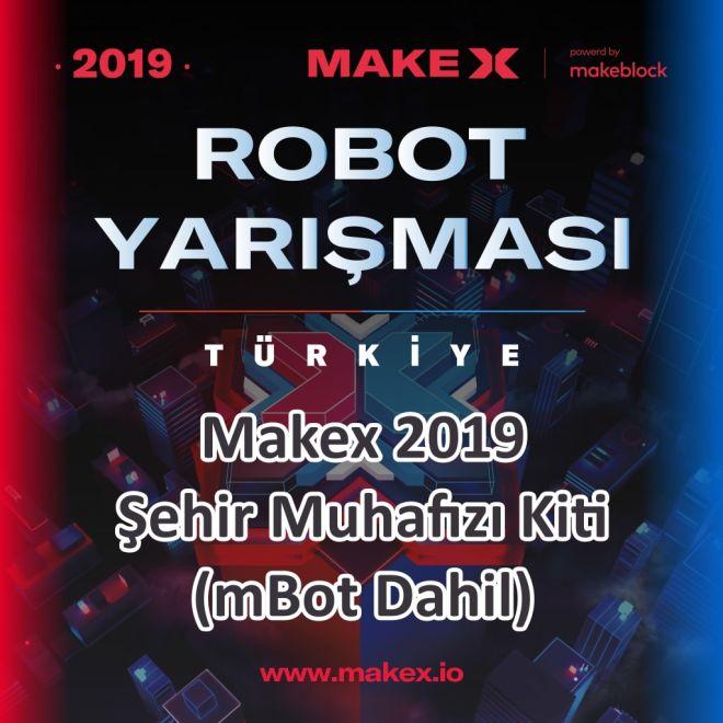 MakeX 2019 Şehir Muhafızı Kiti