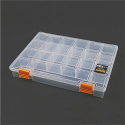 Mano - Mano Transparent Storage Box 11'' Classic Organizer
