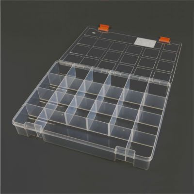 Mano Transparent Storage Box 13'' Classic Organizer